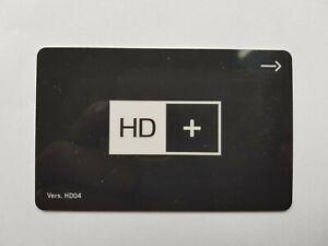 HD+ Karte HD04 SAT Empfang mit 10 Monate Restguthaben