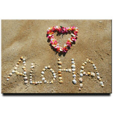 Aloha Hawaii fridge magnet Oahu travel souvenir Honolulu Maui Kauai Waikiki