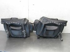 H SUZUKI INTRUDER VL 1500  2002 AFTERMARKET SADDLEBAGS