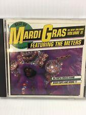 Best Of Mardi Gras In New Orleans Vol. 2 Funk Soul Folk CD Soul Meters 1989