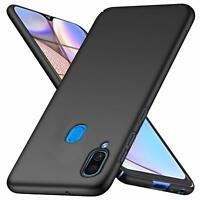 For Samsung Galaxy A10s Case Ultra Slim Hard Back Cover - Matte Black