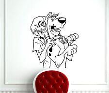 Scooby Doo Wall Decal Cartoon Vinyl Sticker Kids Nursery Art Decor Mural (406z)