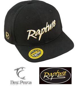 RAPTURE - CAPPELLO PRO TEAM FLAT BRIM CAP BLACK