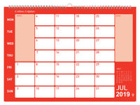 Collins CMCA4 2019 Colplan Memo Calendar Planner A4 Size