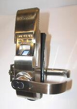1Touch Biometrics IQ2 Keyless Fingerprint Door Lock Brushed Nickel EVO3