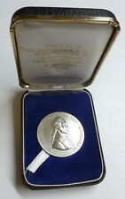 Captain James Cook 1770-1970 Australia Discovery Sterling Silver Medallion + Box