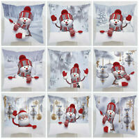 "Christmas Gifts Cushion Cover Pillow Case for Sofa Home Office Decor 18""x18"""