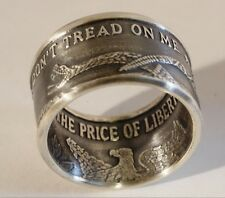 Don't Tread On Me  .999 Silver Coin Ring Size 7 - 16