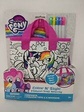 Hasbro My Little Pony Fashion Tote Color N Style Art Craft Activity Set  NEW