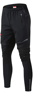 JOGVELO Mtb Pants Mens, Cycling Trousers Reflective Thermal Waterproof for and