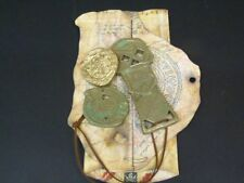 THE GOONIES MOVIE PROP, MAP, COPPER BONES KEY & SPANISH DOUBLOON & COIN