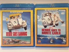 Disney Exclusive Herbie Goes Bananas & Goes to Monte Carlo (Blu ray, 2015) (NEW)