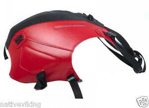 APRILIA CAPONORD 1200 2014 red black BAGSTER tank cover BAGLUX tank bag 1640D