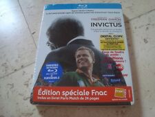 FNAC exclusive INVICTUS rare NEW&SEALED Blu-Ray SteelBook with BOOK Matt Damon