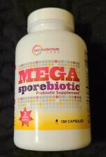 MEGA Sporebiotic Probiotic Supplement 180 capsules NEW and SEALED! FREE SHIPPING