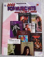 2002 Pop Music Hits 16 Songs Arr Easy Piano Dan Coates Unmarked