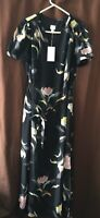 a new day black/floral dress small