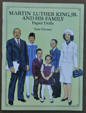 Martin Luther King Jr and His Family ~ Paper Dolls Tom Tierney ~ Uncut