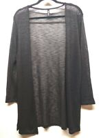H&M Divided Size L Women's Cardigan Black