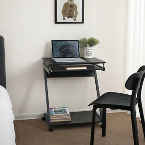 Corner Compact Computer Desk Office Table PC Gaming Study Bedroom Workstations
