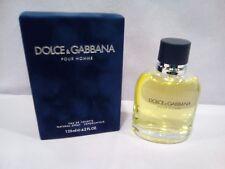 D&G DOLCE & GABBANA POUR HOMME MAN UOMO EAU DE TOILETTE SPRAY 125 ML.