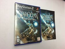 STAR OCEAN TILL THE END OF TIME  PS2 PLAYSTATION 2 PAL USATO