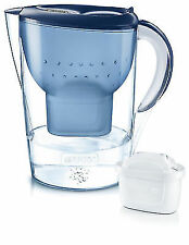 Brita Marella XL Water Filter Jug and Cartridge + Blue