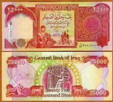 Iraq, 25000 (25,000) Dinars, 2010, P-96e, UNC