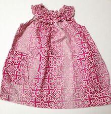 Tea Collection Summer Dress Size 6-12 Months~Cotton Pullover Sleeveless