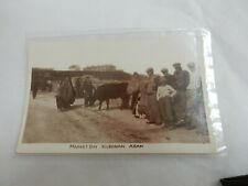 More details for market day kilronan aran  island  - ireland  art deco sepia postcard  original
