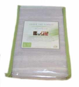UNDER THE CANOPY Unity Lavender Aura STANDARD PILLOWCASES Set NWT Organic Cotton