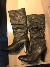 Lovely Ladies Leather Knee Length Boots From Next Size 5