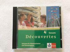 Decouvertes 4 SESAM Software für Klassenarbeiten und Schulaufgaben Klett