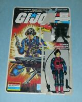 1984 GI Joe Cobra Scrap Iron v1 Figure w/ Full File Card Back *100% Complete*