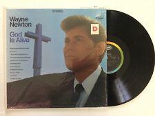 Wayne Newton: God Is Alive Vinyl Lp Capitol St-2832 +bonus Cd
