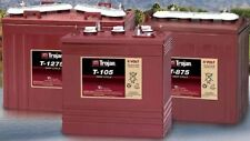 Trojan T1275 Trojan battery, 12V 150AH, for  GOLF CARTS, accept trade-ins