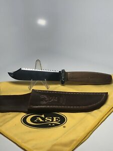 CASE'S TESTED XX CASE Fixed Blade Knife 1920s 1940s Wood Handle