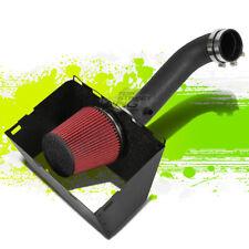 "BLACK COLD AIR INTAKE FOR 09-14 RAM 1500/2500/3500 5.7L 3.5"" PIPE & HEATSHIELD"