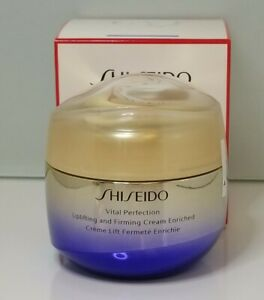 Shiseido Vital Perfection Uplifting and Firming Cream Enriched 2.6fl.oz/75ml NIB