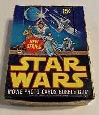 1977 Star Wars Series 2 Empty Bubble Gum Vintage Trading Card Wax Box