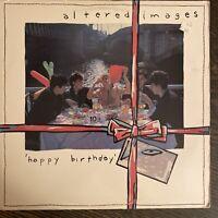 Altered Images Happy Birthday Vinyl LP Orig Portrait Record VG+ PROMO