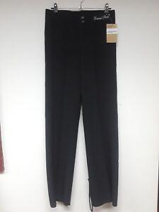 Grand Prix Dancewear Boys Men's Latin Dance Pants Black Size XS (28)