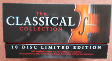 The CLASSICAL COLLECTION-10 Disc Limited Edition-Mozart,Beethoven,Bach,Strauss..