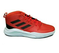 Kids Adidas Own The Game Running Shoe - Red/Black/White Size 4.5 Youth