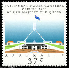 1988 The Opening of Parliament House Stamp - MUH