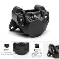 Aluminum Alloy Black 84mm Motorcycle Rear Brake Caliper For Ducati Honda Yamaha