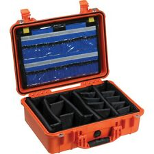 fantastic condition - light scuffs on bottom | Pelican 1500Ems Case - Orange