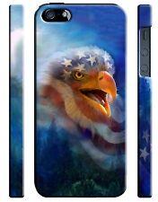 USA Patriotic Eagle Flag iPhone 4S 5S 5c 6S 7 8 X XS Max XR 11 Pro Plus Case 8