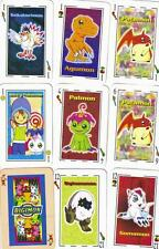 DIGIMON MODERN SPANISH SUIT 50 CARDS DECK AND MEMORY NIOB