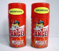 "2 SUPER ANGEL SPEGNIFUOCO SPRAY PORTATILE ""MINI ESTINTORE"""